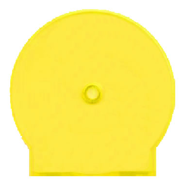 CShell Yellow Opaque Pack of 50
