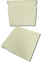 White Paper Board Self Seal Mailer 9x6 100 pack