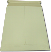 White Paper Board Self Seal Mailer 11x13.5 - 100 Pack